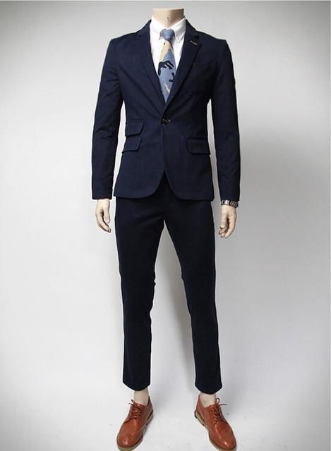 149737521 Sets   chaquetas + pantalones de traje 2016 hombres de moda chaqueta de  traje de corea
