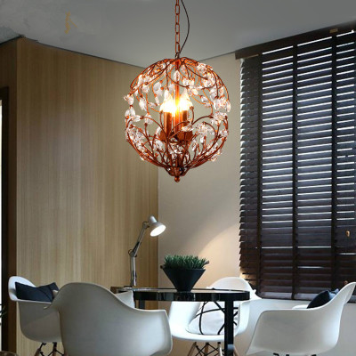 American Chandelier Lights Retro Crystal Firefly Chandelier Lamps Dining Room Bar Coffee Shop Suspension Lamp Lighting FixturesAmerican Chandelier Lights Retro Crystal Firefly Chandelier Lamps Dining Room Bar Coffee Shop Suspension Lamp Lighting Fixtures