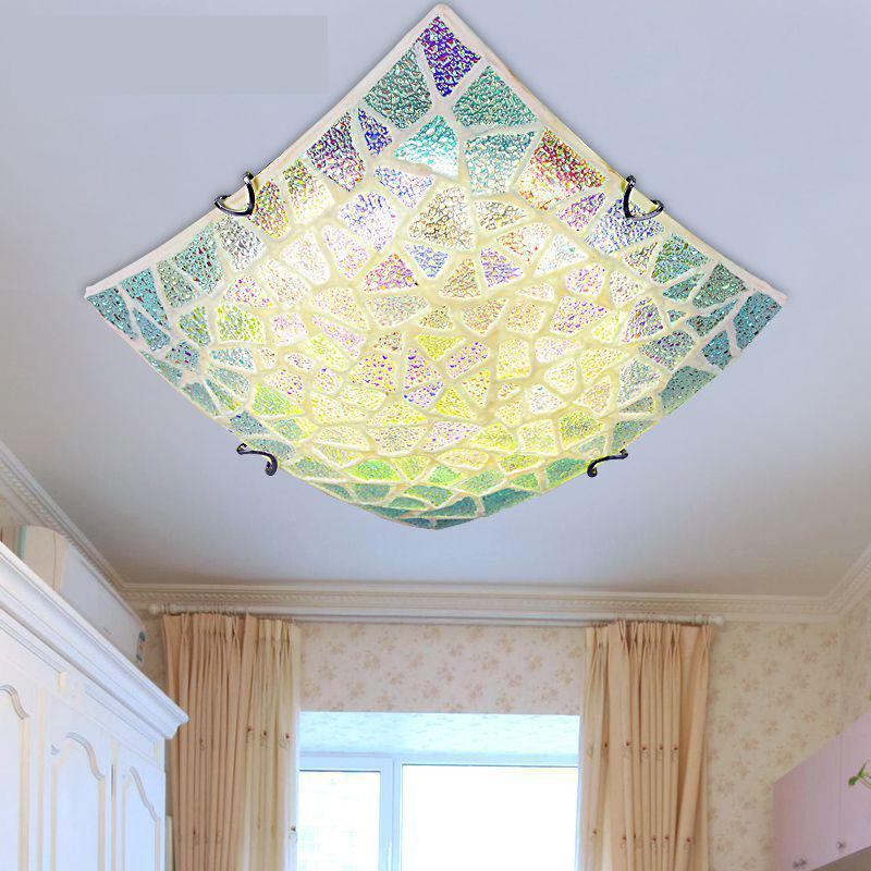 Colorful Shell Ceiling Lamp Modern Ceiling Light Bathroom Ceiling - Brushed nickel bathroom ceiling light fixtures