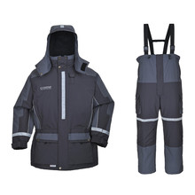 Greatrees Men 's Nylon Lifesaving Floatation Suits for Grey waterproof breathable windproof Suits