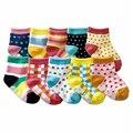 Calcetines de bebé de Goma Niños Antideslizante Calcetín Para Las Muchachas Del Muchacho Algodón recién nacido Soft Sole Infant Toddler Niños Calcetines Zapatos Sapato Infantil