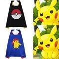Pokemon PIKACHU Capa para los niños fiesta de cumpleaños favores e ideas de Halloween Niños Niños Niñas Cosplay Tops Traje