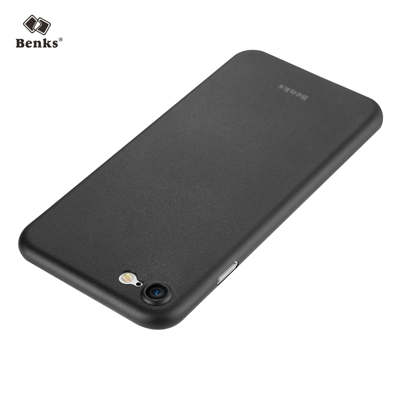 Case For IPhone 7 7Plus Benks Ultra Thin 0 4mm Light Transparent Frosted Cover Cases For