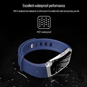 Image 4 - Gelée peigne montre intelligente pour Android IOS tension artérielle moniteur de fréquence cardiaque Sport Fitness montre Bluetooth 4.0 hommes femmes Smartwatch