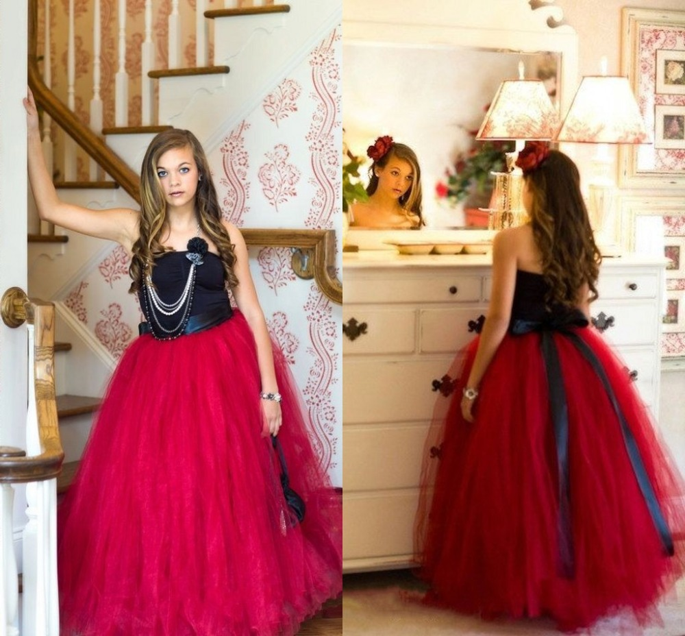 Beautiful Girls Pageant Dresses Off The Shoulder Sleeveless Ball ...