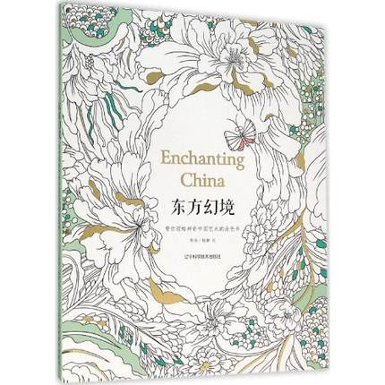 Enchanting China antistress Coloring books adult colouring kill time Painting drawing book if books could kill