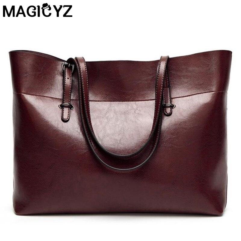 Cire de pétrole vintage en cuir sac Messenger sac à main sac femme sacs à main dames pour les femmes,Pink