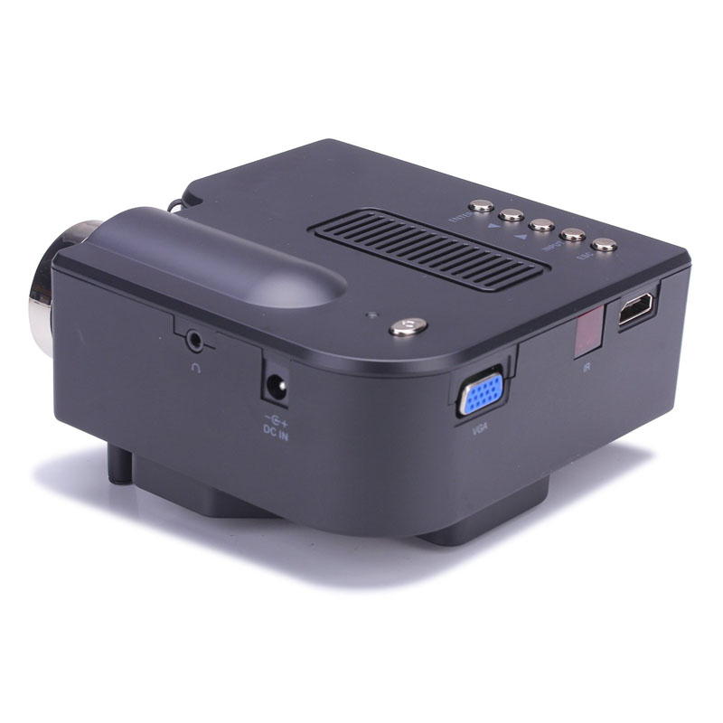 Image 3 - 1080P HD LED Home MulitMedia Theater Cinema USB TV VGA SD HDMI Mini Projector WH Jan 23-in Home Automation Modules from Consumer Electronics