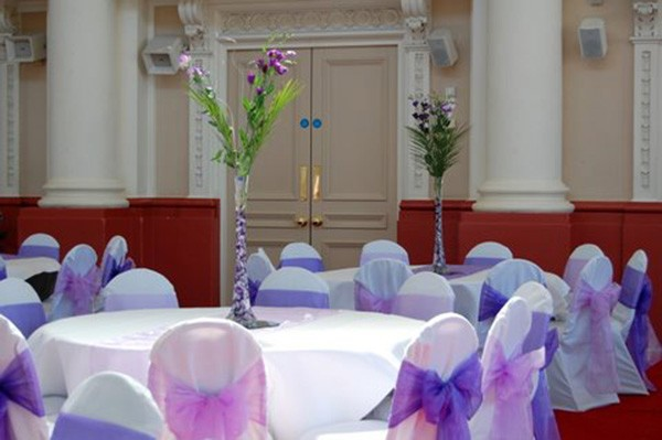 Satin-Chair-Cover-With-Organza-Sash-for-Wedding-Banquet