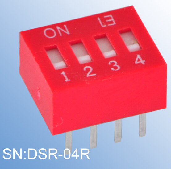 ELEWIND Recessed type of DIP SWITCH(DSR-04R)