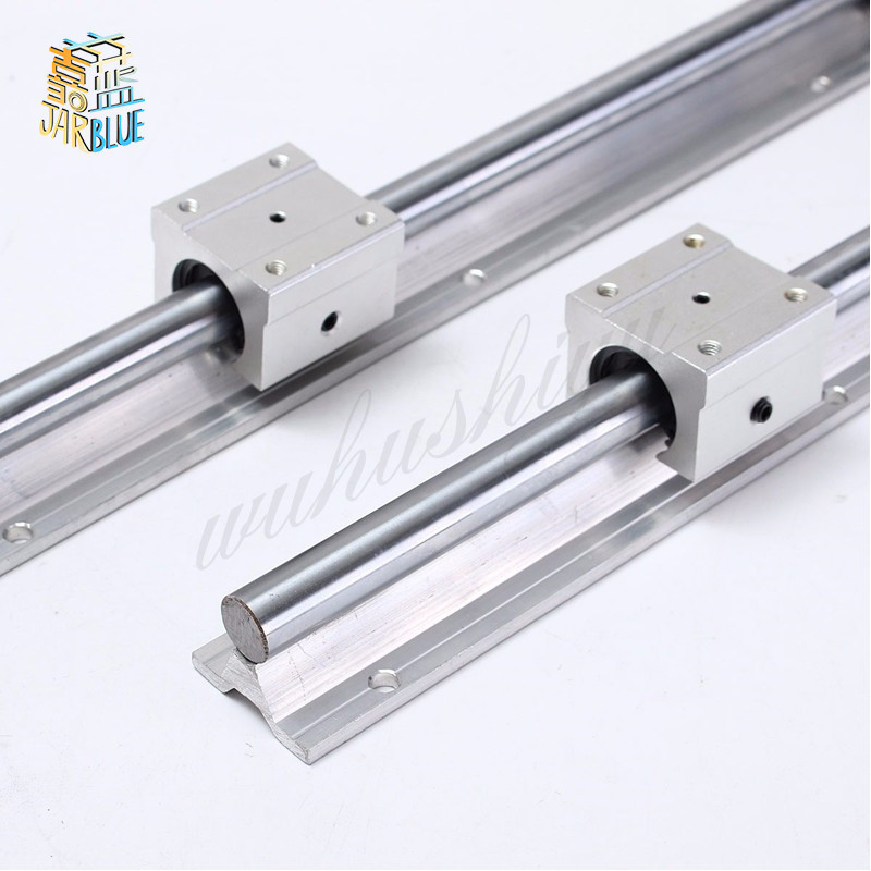 Free Shipping 2pcs Sbr10 200mm And 4 Pcs Of Sbr10uu 10mm Linear Rail Cnc Parts Sbr10*200mm GuideFree Shipping 2pcs Sbr10 200mm And 4 Pcs Of Sbr10uu 10mm Linear Rail Cnc Parts Sbr10*200mm Guide