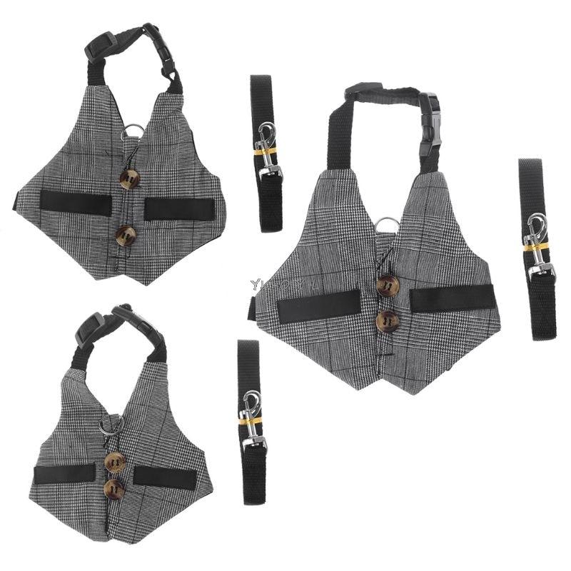 New Multipurpose Rabbit Harness Small Animals Pet Leash Chinchillas Guinea Pig Vest Clothes Harness Leash Pet Strap
