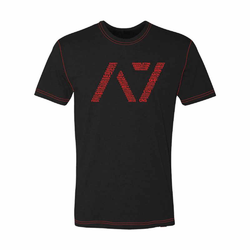Été mode marée marque A7 imprimer décontracté Slim hommes t-shirts haut à manches courtes survêtement Sportswear T-shirt hommes t-shirts dessus de chemise