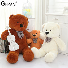 80cm-120CM Giant Teddy Bear Plush Toys Stuffed Teddy bear Cheap Pirce Girlfriends Christmas for Kids kawaii toys For Children