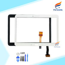 for samsung galaxy tab 4 10.1 t530 t531 t535 touch screen digitizer lcd front glass lens with flex cable one piece