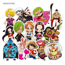 One Piece Waterproof Stickers For Suitcase-Refrigerator-skateboard-laptop 48pcs