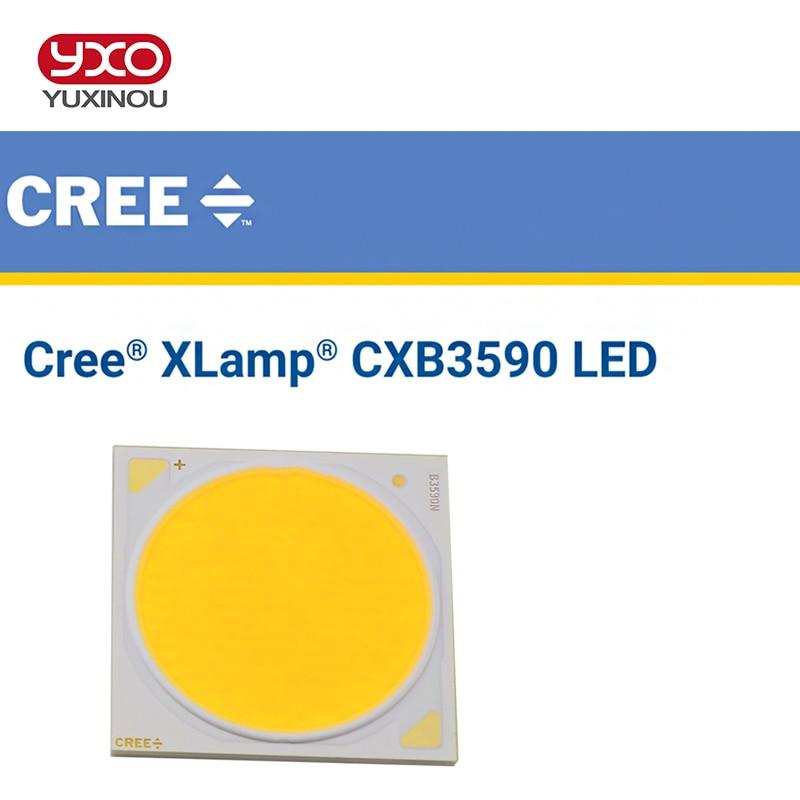 1pcs Original Cree CXB3590 CXB 3590 led grow light 3500K CD Bin 80 CRI 36V with Plastic Holder for medical plants