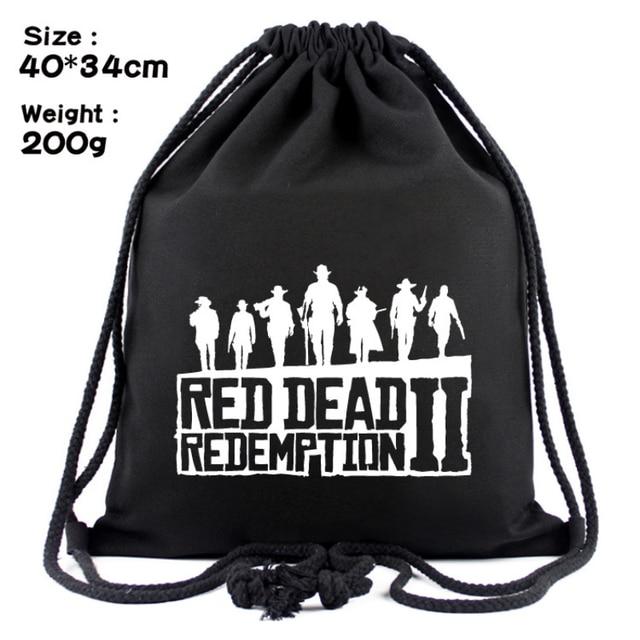 Red Dead Redemption 2 Drawstring Bag