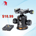 "High Quality BEIKE BK-03 Camera Tripod Aluminum Alloy Tripod Ball Head &Quick Release Plate 1/4"" Screw Maximum Load 8kg"