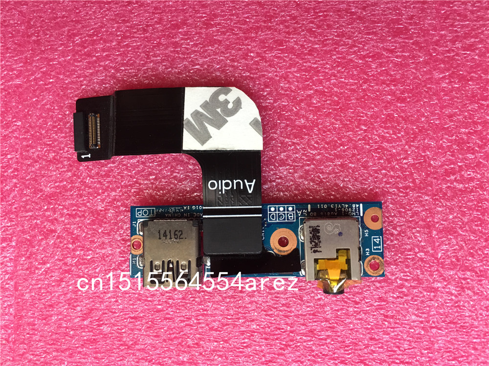 Cable Length: Board ShineBear 04W3912 ShineBear for ThinkPad X1 Carbon Audio Jack Mini DP Port USB Board Full Tested