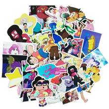 32pcs/Lot New Steven Universe Cartoon Stickers For Laptop Anime Phone Notebook Skateboard Snowboard Car pvc Waterproof Sticker(China)