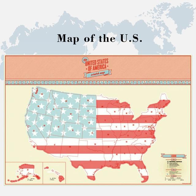 Scratch Off Us Map - Us-scratch-map
