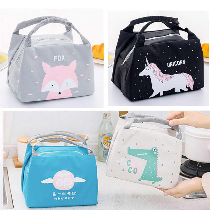 New Baby Food Milk Bottle Storage Insulation Bags Waterproof Oxford Flamingo Bag Lunch Bag Infant Kids Food Warmer Thermal Bag