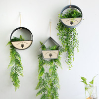 Home decoration flowerpot Succulent planter hanging baskets for bracketplant also for artificial flower garden Ornaments