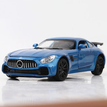 1:32 игрушечный автомобиль BENZ GTR AMG металлическая игрушка сплав супер автомобиль Diecasts & Toy транспортные средства модель автомобиля миниатюрная масштабная модель автомобиля игрушка для детей