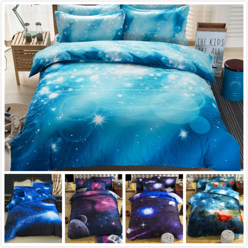 Hard-Working 3d Scenic Creative Pattern Kids Boy Student Single Twin Full Queen King Size Duvet Cover 2/3/4 Pcs Bedding Set Bedlinen 150x210 To Invigorate Health Effectively Solar