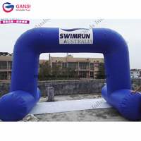 2018 new product entrance arch design 6m span inflatable arch tent for exhibition