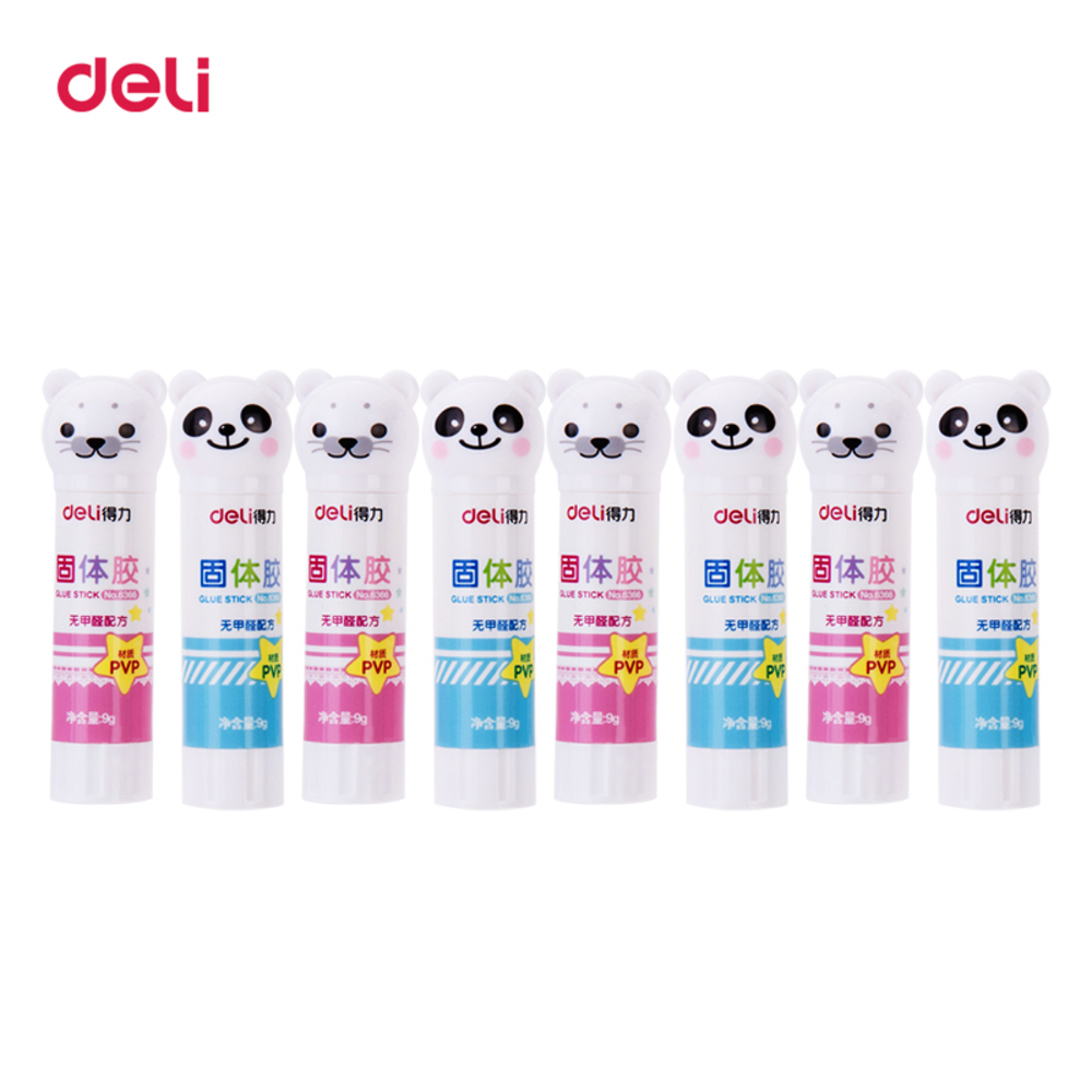 Peerless Cute Plastic Glue High Viscosity Glue Stick For Office Stationery Supplies Tapes, Adhesives & Fasteners