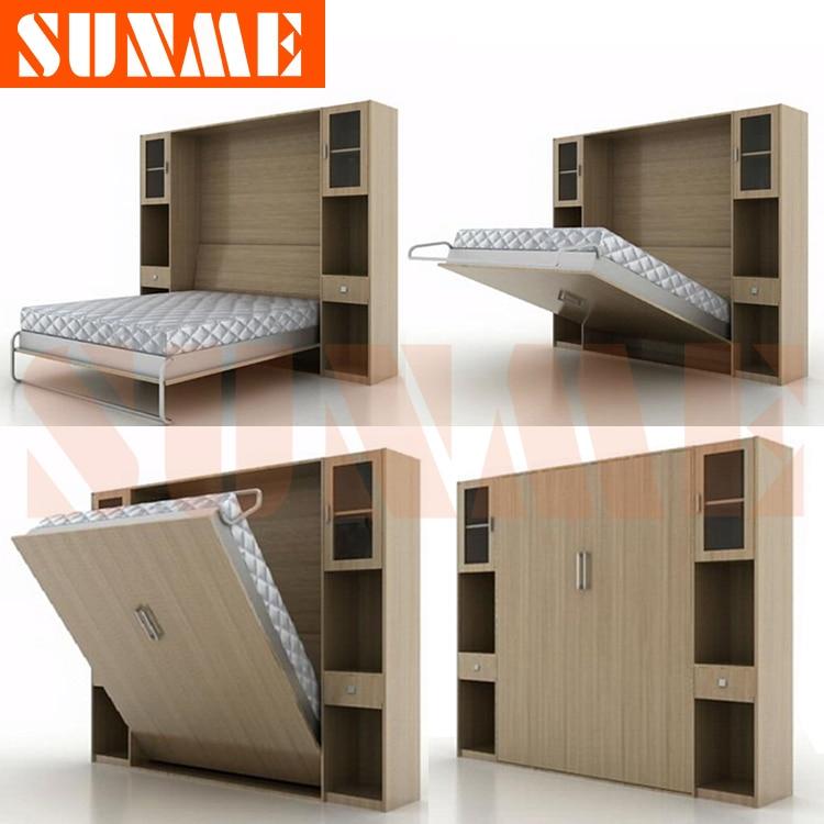 Wall Folding Beds Into Wall Murphy bed / folding b...