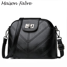 Maison Fabre Bag women Leather crossbody bag vintage Shoulder bag strap 2019 Hot designer handbags high quality ladies handbags cheap Flap Messenger Bags Zipper Hasp Soft NONE Casual Z34987 Synthetic Leather Versatile Solid Single Interior Compartment