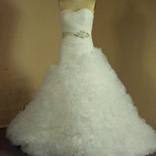 kejiadian Luxury Puffy Ball Gown Wedding Dress beading gown