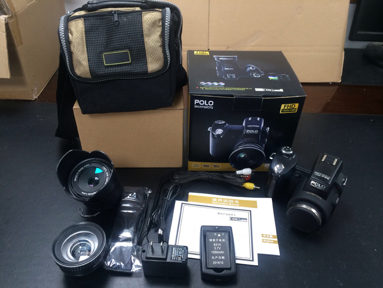 PROTAX D7100 33MP Professional DSLR Shape Digital cameras 24X Telephotos Lens 8X...