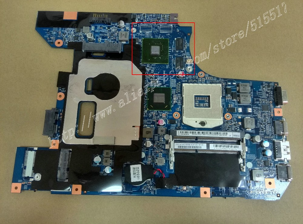NEW For Lenovo Z570 Motherboard with Nvidia video card 1GB 48.4PA01.021