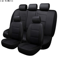 Car Believe car seat cover For vw golf 4 5 VOLKSWAGEN polo 6r 9n passat b5 b6 b7 accessories covers for vehicle seat