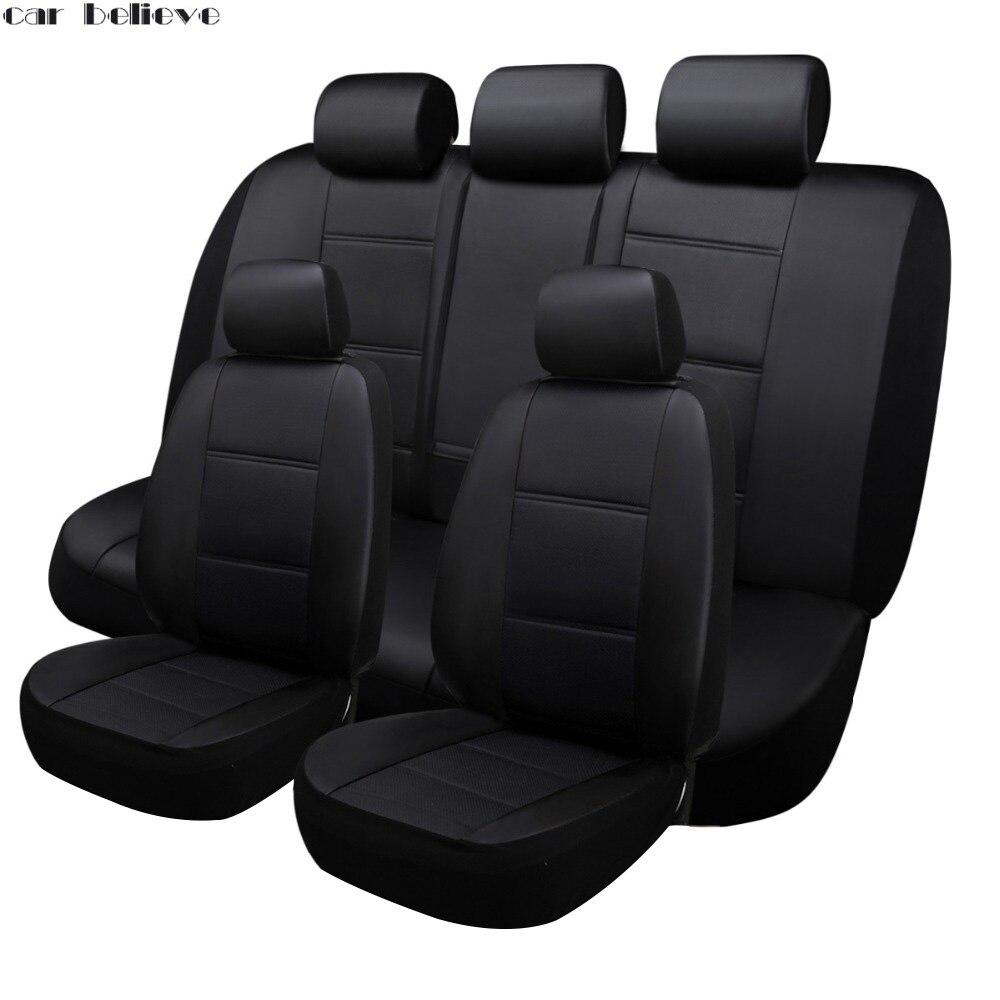 Voiture Crois housse de siège de voiture Pour vw golf 4 5 VOLKSWAGEN polo 6r 9n passat b5 b6 b7 accessoires couvre pour véhicule siège