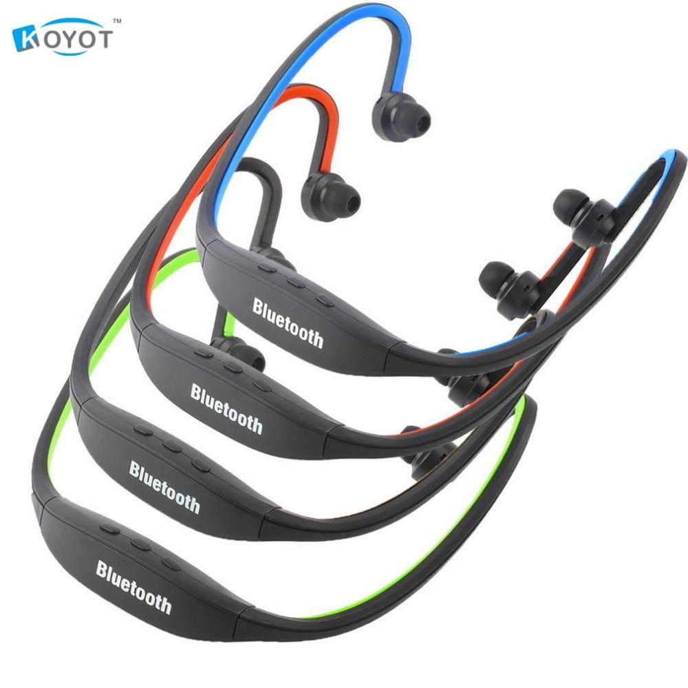 KOYOT Sports Handfree Stereo Wireless Bluetooth 3.0 Headset Earphone Headphone for iPhone 7 Galaxy S4/S3 HTC LG Smartphone UM