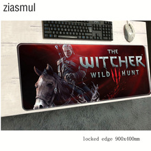 witcher mouse pad 900x400mm pad to mouse notbook computer mo