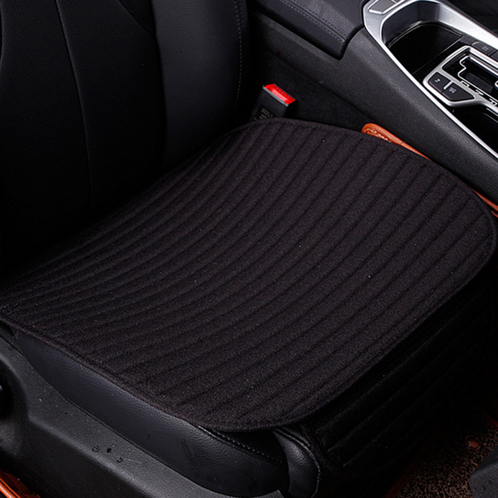 Universal Flax Car Seat Cushion Breathable Cotton Automobiles Massage Seat Cover Mat Pad Protector Auto Interior Accessories