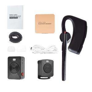 Image 5 - אלחוטי ווקי טוקי אוזניות PTT Bluetooth אוזניות עם מיקרופון מתאם 2 דרך רדיו M סוג אלחוטי אוזניות למוטורולה רדיו