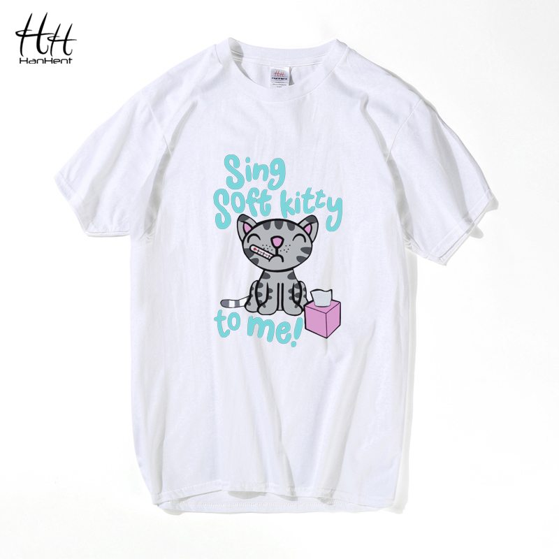 HanHent The Big Bang Theory Shirt Schrodinger's Cat T-shirts Mænd - Herretøj - Foto 4