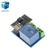 GREATZT ESP8266 5V WiFi relay module Things smart home remote control switch phone APP ESP-01S relay module(China)