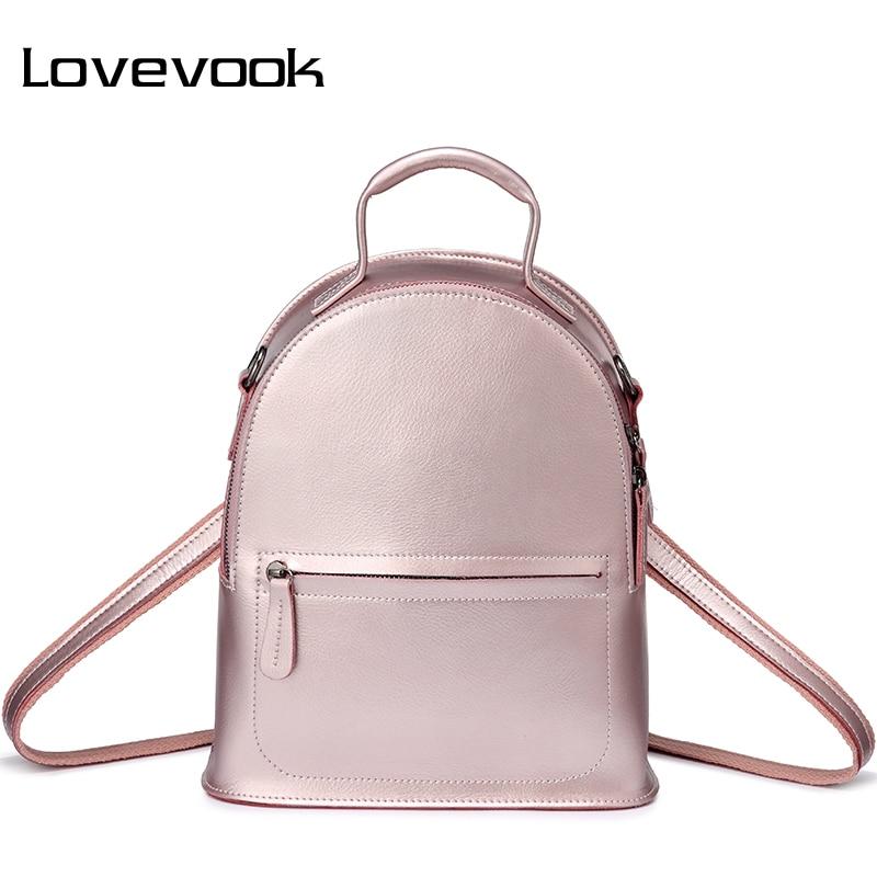 LOVEVOOK femmes sacs à dos split en cuir mini sac à dos cartable pour filles adolescentes sac à main femme petits sacs pour femmes 2019