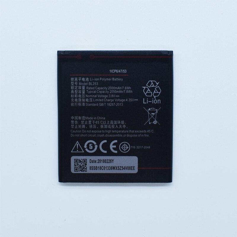 Hekiy 2018 новые оригинальные BL253 Батарея для Lenovo A2010 Bateria/2010/BL 253/3.8 В 2000 мАч Замена телефон перезарядки