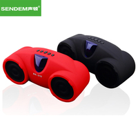 SENDEM BS212 Subwoofer Auto Model Bluetooth Speaker Portable Mini Wireless 3D stereo Speaker with U disk TF for Phone PC Tablet