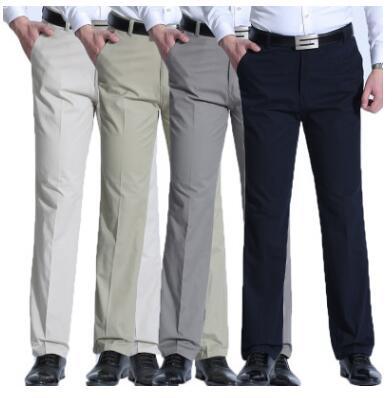 Завод прямых продаж сезон весна-лето среднего возраста все хлопка штаны для отдыха мужчин среднего возраста прямая трубка свободные облега...