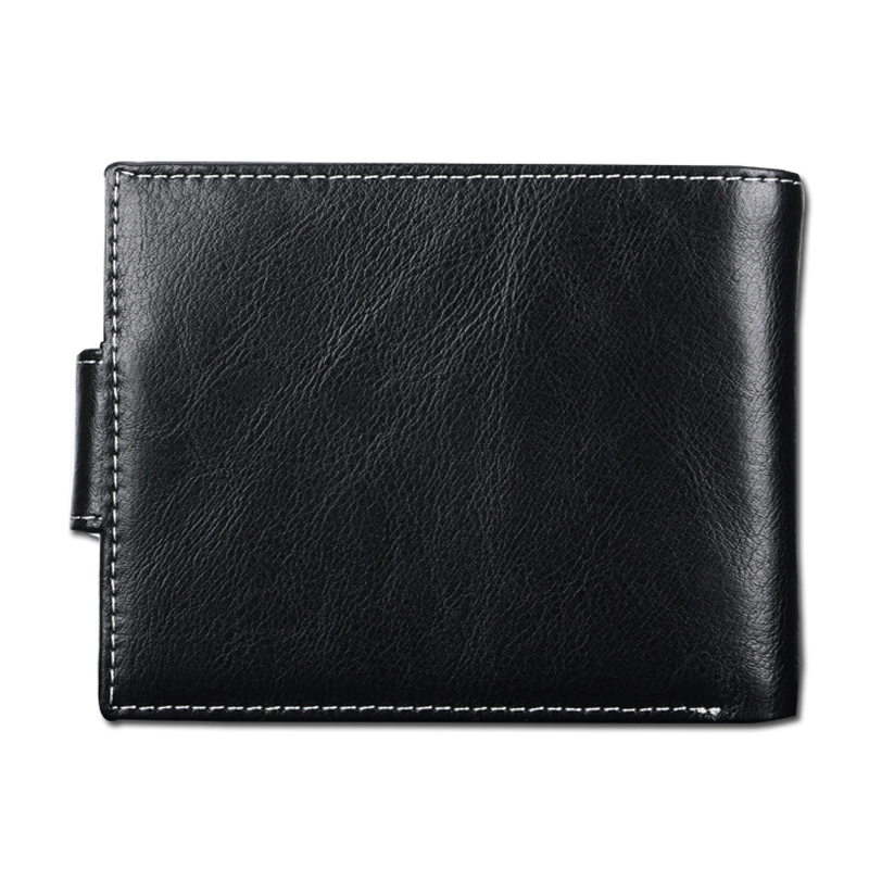 267c59008a90 Quality New Men's Wallets Korean Fashion Multi Bits 3 Folds Button Hasp  Coins Change Pocket ID Credit Card Holder Free Shipping-in Wallets from  Luggage ...